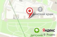 Схема проезда до компании Футбольный Клуб «Москва» в Москве
