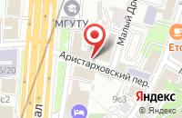 Схема проезда до компании Олен в Москве