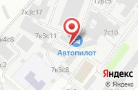 Схема проезда до компании Проектная Фирма «Аск» в Москве