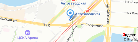 Техно-Строй на карте Москвы