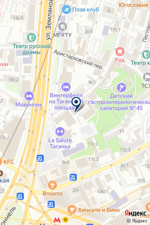 ПРОЕКТНОЕ БЮРО RPAA на карте Москвы