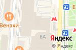 Схема проезда до компании Деньга в Москве