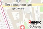Схема проезда до компании Fratelli-Interiors в Москве