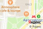 Схема проезда до компании На Автозаводской в Москве