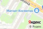 Схема проезда до компании МегаСет в Москве