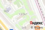Схема проезда до компании Центральное юридическое управление в Москве