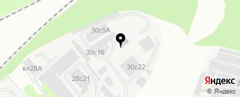 Мой BMW на карте Москвы
