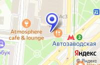 Схема проезда до компании МАГАЗИН ОБУВНОЙ ЦЕНТР НА АВТОЗАВОДСКОЙ в Москве