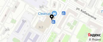 INROVER на карте Москвы