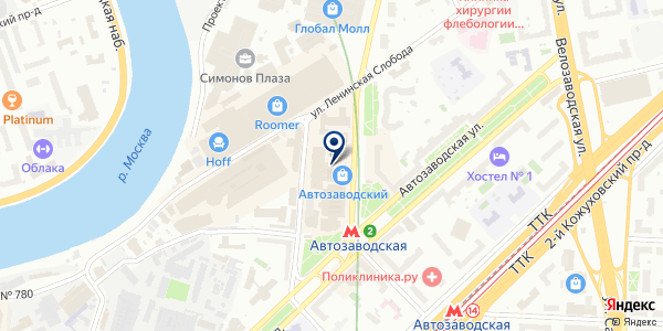 Халяль на карте Москве