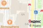 Схема проезда до компании Podio в Москве