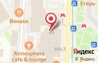 Схема проезда до компании Solitaire в Москве