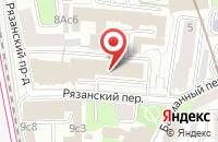 Схема проезда до компании Аст-Пресс Март в Москве