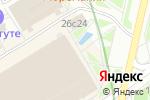Схема проезда до компании Обои-дом в Москве