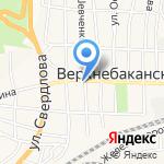 Автомагистраль на карте Новороссийска