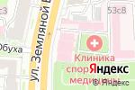Схема проезда до компании Усадьба Усачевых-Найденовых в Москве