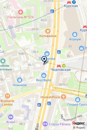СТРОИТЕЛЬНАЯ КОМПАНИЯ АБРИС-СИ на карте Москвы