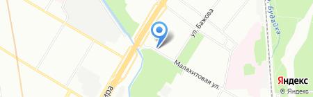 Дом военной одежды на карте Москвы