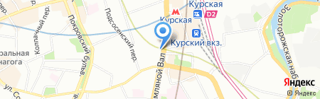 Мособлстройматериалы на карте Москвы