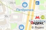 Схема проезда до компании Мелор в Москве
