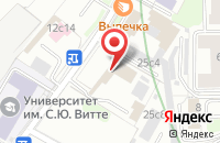 Схема проезда до компании Тироль Медиа в Москве