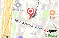 Схема проезда до компании Рдв-Медиа в Москве