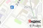 Схема проезда до компании Шиномонтажная мастерская на Кожуховском 2-ом проезде в Москве