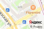 Схема проезда до компании HomeLight Hostel в Москве