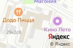Схема проезда до компании АйТиПроект в Москве