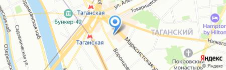 Синтек на карте Москвы