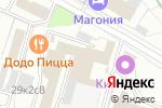 Схема проезда до компании Элегазэнергосервис в Москве