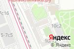 Схема проезда до компании Геосмарт в Москве