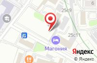 Схема проезда до компании Итс-Маркет в Москве