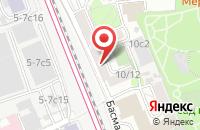 Схема проезда до компании Баумакс в Москве