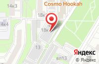 Схема проезда до компании Красный Квадрат в Москве