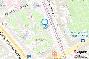 Комната в двухкомнатной квартире в Москве Старая Басманная улица, 9к2