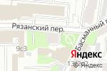 Схема проезда до компании No frame в Москве