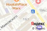 Схема проезда до компании Pistachio в Москве