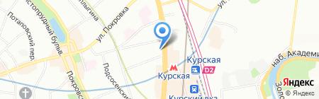 Cafe Frappe на карте Москвы