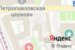Схема проезда до компании Евразийская академия телевидения и радио в Москве