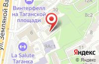 Схема проезда до компании Международный Институт Профессионального Бизнеса в Москве