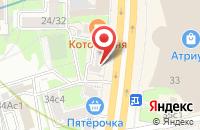 Схема проезда до компании Издательский Дом «Инвестфлот-Медиа» в Москве