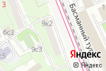 Схема проезда до компании Ольга в Москве