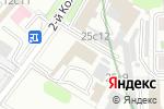 Схема проезда до компании Фабрика заглушек в Москве