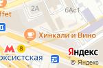 Схема проезда до компании Alternative nails в Москве