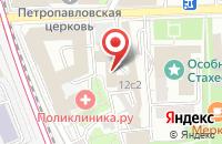 Схема проезда до компании Масс-Медиа Системы в Москве