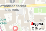 Схема проезда до компании Аудит Контур в Москве