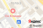 Схема проезда до компании Bunker Lounge в Москве