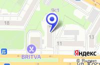 Схема проезда до компании МОСКОВСКИЙ ВЕКСЕЛЬНЫЙ БАНК в Москве