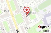 Схема проезда до компании Аэрокосмическая Корпорация «Воздушный Старт» в Москве